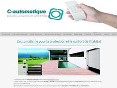 site de c-automatique cree en formation avec e-cime.fr spécialiste du site avec optimisation Référencement pour TPE