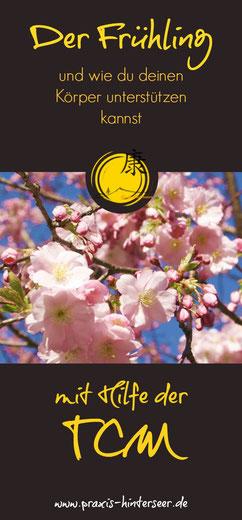 TCM, Frühling, Blutaufbau, Wut, Mut, Leber, Gallenblase, 5-Element-Ernährung
