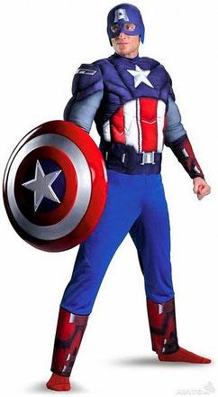 аниматор капитан америка на детский праздник день рождения