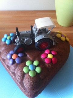 Der Oldtimer Kuchen für Wolfgang, ein kleines Geschenk von uns!