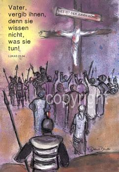 Vater, vergib ihnen Kreuz