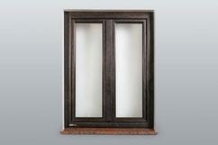 Bronze Fenster / Aussenansicht