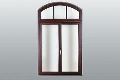 Halbrunde Fensterform /Innenansicht