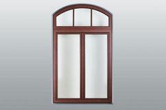 Halbrunde Fensterform / Aussenansicht