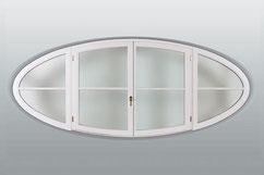 Ovale Fensterform / Innenansicht