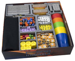 folded space insert organizer roll for the galaxy rivalry