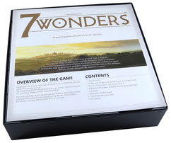 folded space insert organizer 7 wonders second edition armada cities leaders