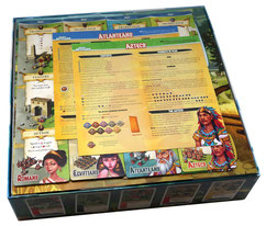 folded space insert organizer imperial settlers