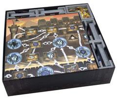 folded space insert organizer Clank! foamcore