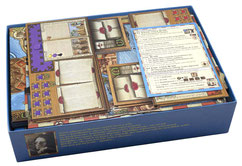 the voyages of marco polo insert organizer board game foamcore