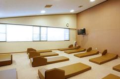 休憩室「陽だまり」※現在、仮眠室としての利用を中止しております