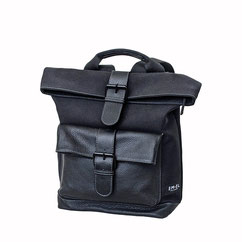 Rucksack Nylon schwarz EM-EL Collection