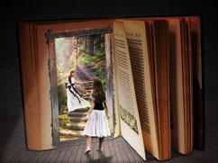 Bücher sind Tore zur Fantasie