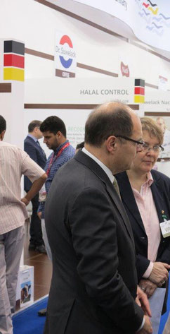 H.E. the Federal Minister of Food and Agriculture Christian Schmidt visits the German Pavilion