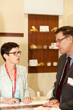 Heidelore Knirr with H.E. Dr. Gerd Müller, Federal Minister for Economic Cooperation and Development