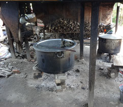 Las « cocinas ».