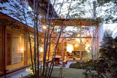 前事務所担当物件(横内敏人建築設計事務所):岡崎のセミコートハウス 画像
