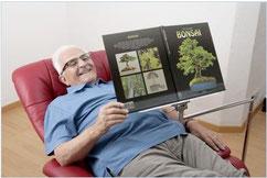 bequemes Lesen im Komfortsessel
