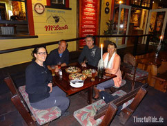 Neuseeland - Motorrad - Reise - Abendessen mit Tom und Ian