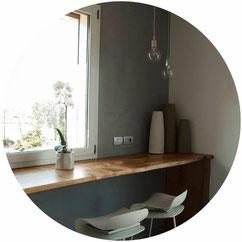 Progetto di interni e di arredamento di un appartamento a Verona, affidato all'architetto De Gobbi dello studio di architettura Casettastudio.
