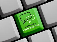 Rhetorik Kommunikation online