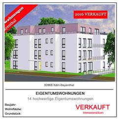 projektentwicklung planung architekt makler vertrieb immoconsilium mehrfamilienhaus kapitalanlage eigentumswohnung 50968 köln bayenthal verkauf immobilien