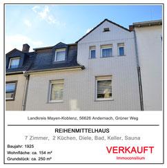 immobilie hausverkauf makler reihenhaus grüner weg immoconsilium 56626 andernach