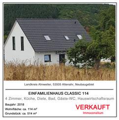 hausbau massivhaus einfamilienhaus classic 114 immoconsilium 53505 altenahr neubaugebiet vertrieb makler