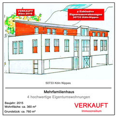 projektentwicklung architekt planung eigentumswohnung merhfamilienhaus makler immoconsilium hausbau 50733 köln nippes vertrieb