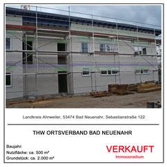 kapitalanlage verkauf makler immobilie gewerbeimmobilie  immoconsilium thw ortsverband tankstelle pies 53474 bad neuenahr ahrweiler