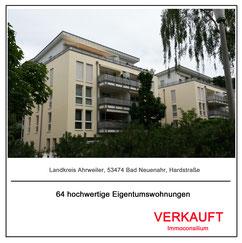 verkauf vertrieb makler projektentwicklung architekt planung immoconsilium eigentumswohnungen wohnanlage marienhof 53474 bad neuenahr ahrweiler hardstrasse