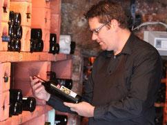 Guillaume, Sommelier du restaurant du Relais des Chasseurs à Chiboz en Valais
