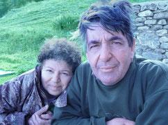 Michel et Yolande Ançay, anciens propriétaires du Relais des Chasseurs de Chiboz, Valais
