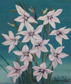 Natura floreale,olio su tela 20x30 cm, anno 2012