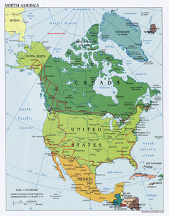 grobe Übersichtsroute Nordamerika 2017/2018