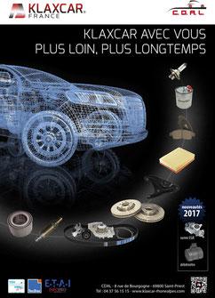 Encart A4 pour magazine automobile