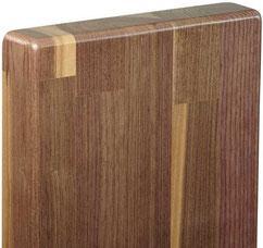 Holztreppen aus Nussbaum, Nussbaumholztreppe, Treppe Nussbaumholz (amerikanisch akzent)