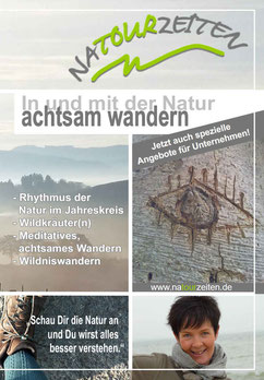 NATOURZEITEN Prospekt Titelseite