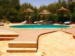 Piscina Campamento Mehari Zaafrane