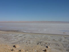 Lake of Chott el Jerid