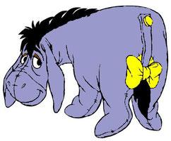 """Der Esel aus """"Winnie Puuh"""""""