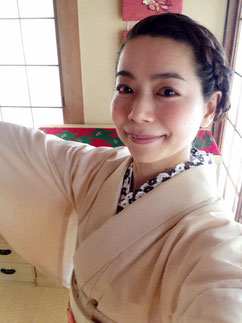 色無地 単衣着物 きものレッスンさくらさくら kimono