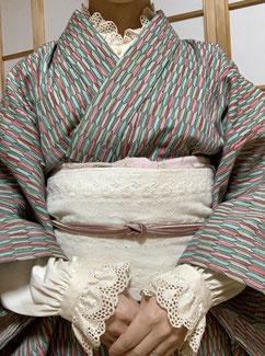 浴衣、綿着物