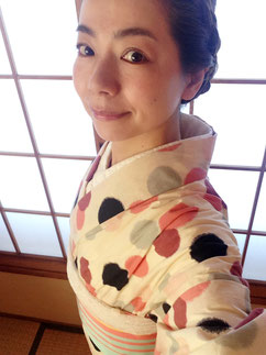 綿着物 きものレッスンさくらさくら kimono