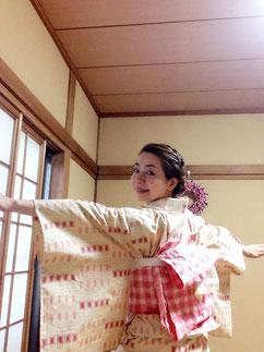単衣着物 きものレッスンさくらさくら kimono