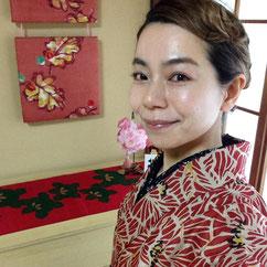 レトロコーディネート 着物 きものレッスンさくらさくら kimono