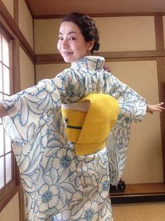 薄物着物 絽 夏着物 きものレッスンさくらさくら kimono