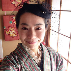 洋服ミックス ウール着物 きものレッスンさくらさくら kimono