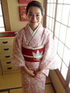 夏着物 きものレッスンさくらさくら kimono