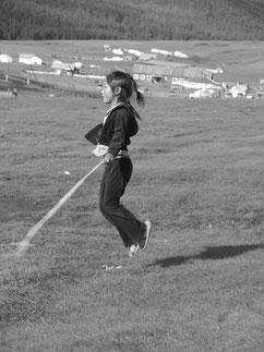 Jeux d'enfant mongol